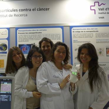 Nanoparticles against cancer in the Live Research Fair