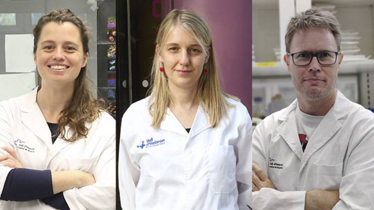 Three researchers at VHIR receive a grant from the Spanish Association Against Cancer